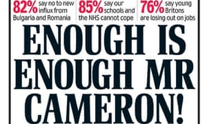 Daily Mail front page, enough is enough