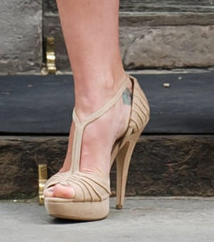 10 best: Samantha Cameron's foot tattoo