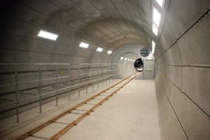 Crossrail: Tunnel Mock Up