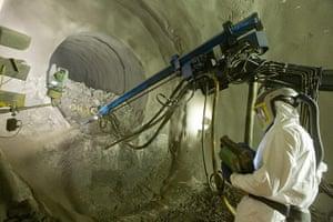 Crossrail: Spray Concrete Lining works