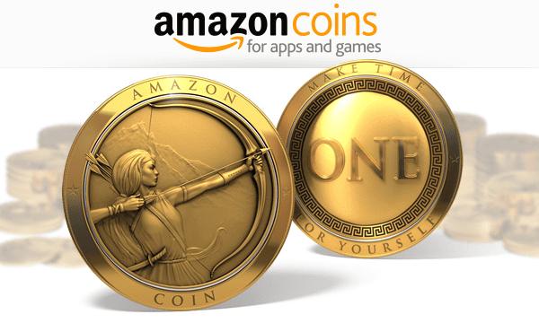 Amazon introduces Amazon Coins.