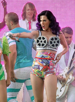 A to Z: Katy Perry performing at the Part of Me film premiere