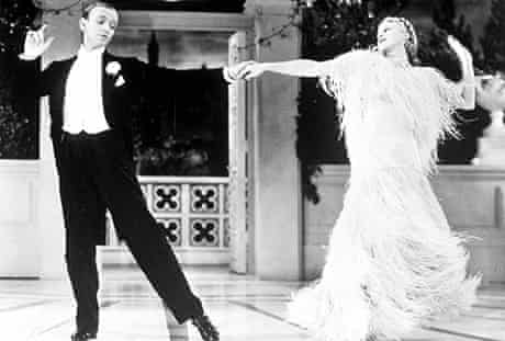 Fred Astaire and Ginger Rogers in Top Hat
