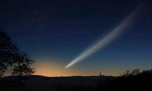 comet Ison graphic