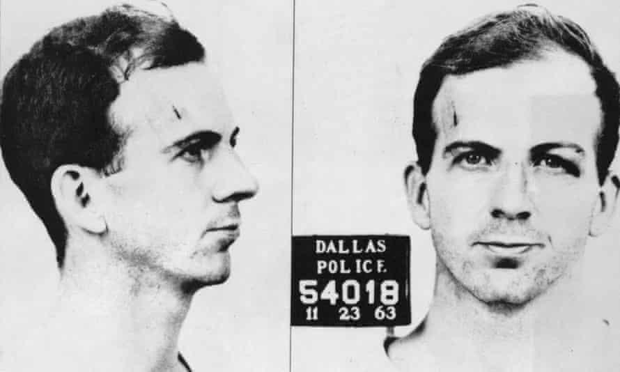 Oswald's mugshot