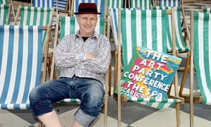 Bob and Roberta Smith at the Art Party Conference