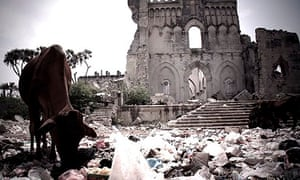The ruins of Mogadishu cathedral in Dirty Wars