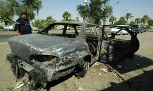 Blackwater guards were accused of killing 17 Iraqis in Baghdad in 2007.