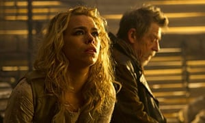 Billie Piper and John Hurt in The Day of the Doctor