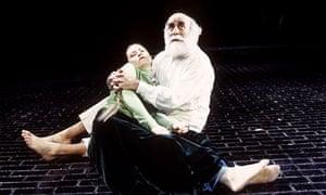 Warren Mitchell in King Lear, Hackney Empire
