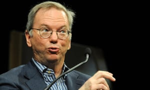 Eric Schmidt thinks the latest Android smartphones make for 'a great Christmas present to an iPhone user'.