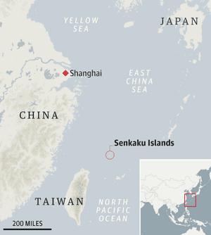 Map - Senkaku Islands