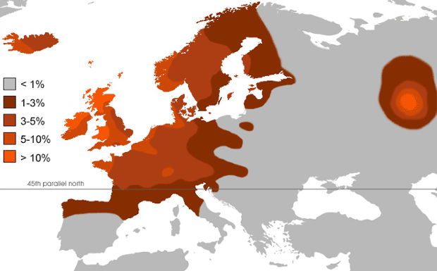 Mapping Redheads Which Country Has The Most Politics The Guardian