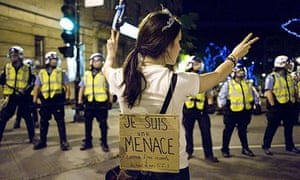 Students protest tuition fee in Montreal