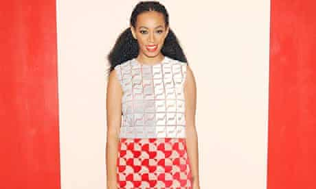 Solange Knowles at a Fendi launch