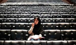 Pakistani teenage activist Malala Yousafzai