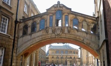 The Bridge of Sighs, Hertford College, Oxford
