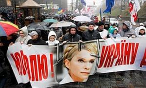 Yulia Tymoshenko supporters