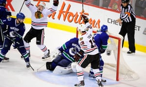 Life is good for the Chicago Blackhawks, not so much for the Vancouver Canucks