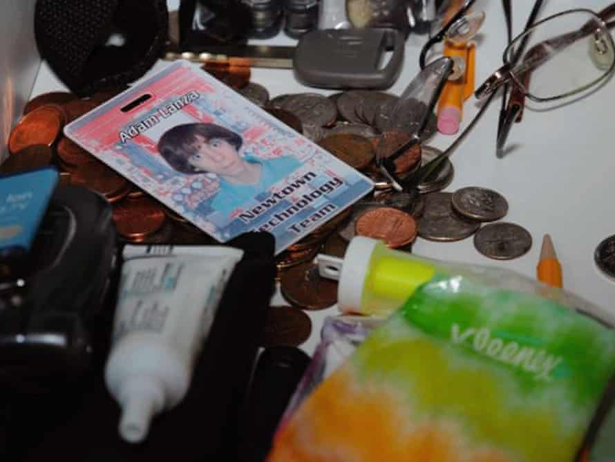 A scene from the house in which Adam Lanza lived