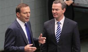 Tony Abbott and Christopher Pyne