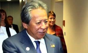 Malaysian foreign minister Anifah Aman