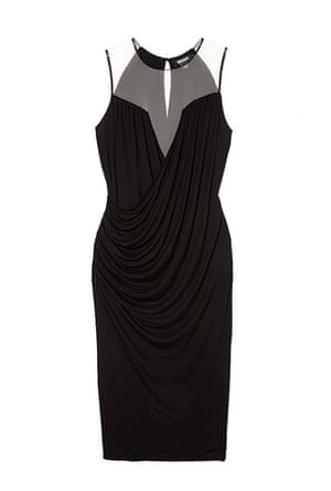 Party dresses: DKNY at mywardrobe.com £208