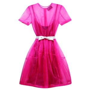 Party dresses update: Fuchsia organza dress, £289, antipodium.com