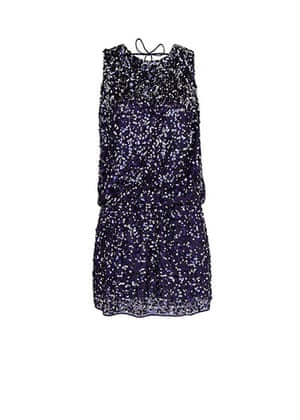 Party dresses update: Open backed sequin dress, £109.99, mango.com