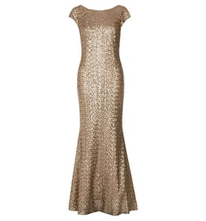 Party dresses update: Gold sequin maxi, £279.20, hobbs.co.uk