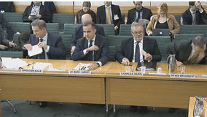 Treasury committee hearing into BoE quarterly inflation report