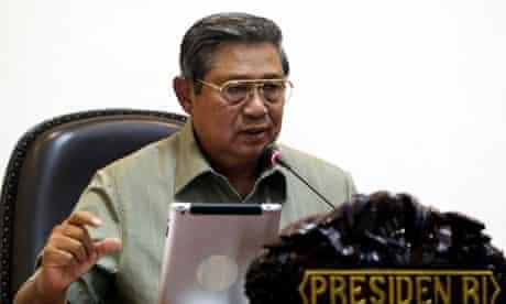 President Yudhoyono Press Conference