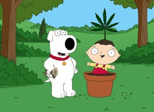 Brian Griffin from Family Guy: a life in pictures