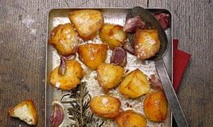 Food advent roast potatoes
