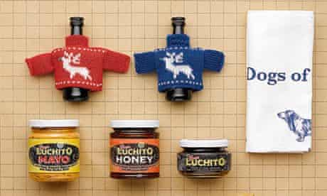 Food advent stocking fillers