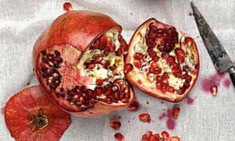 Food advent pomegranate