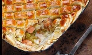Food advent fish pie