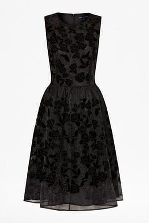 party dresses: party dresses - french connection black rose frock