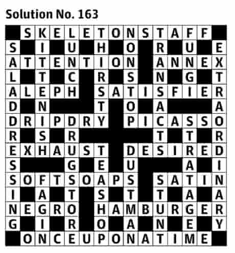 Araucaria S First Guardian Crossword The Solution Crosswords The Guardian