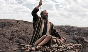 Abraham prepares to sacrifice Isaac