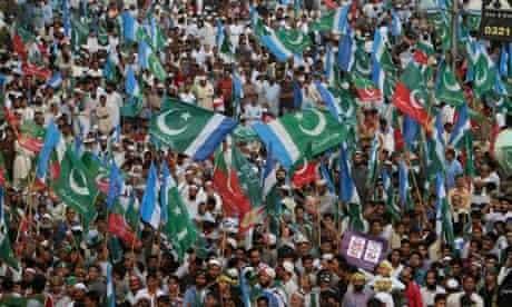 Anti-drone protest in Pakistan