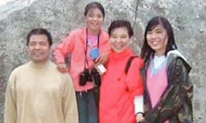 Jifeng Ding and family