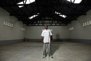 Katine farming: Julius Okodu in the Farmer's store