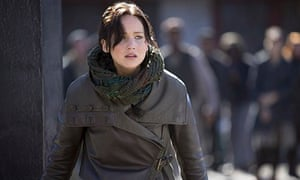 Jennifer Lawrence in Hunger Games: Catching Fire