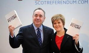 Scottish referendum launch