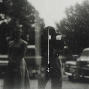 Saul Leiter: String (self portrait), c.1955