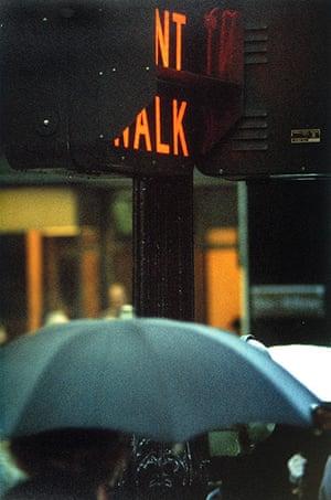 Saul Leiter: Don't Walk, 1952
