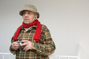 Saul Leiter: Photographer Saul Leiter on the eve of the opening of his exhibition at the