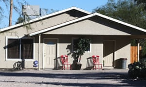 The home in Tucson where the girls were allegedly kept.