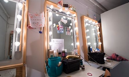 The dressing room of Tracy Ann Oberman